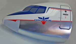 Continental B707 (Chrome)  Wall Nose