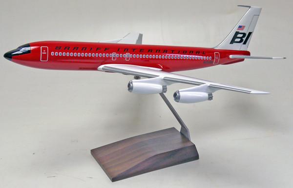 Braniff B707-320B Red