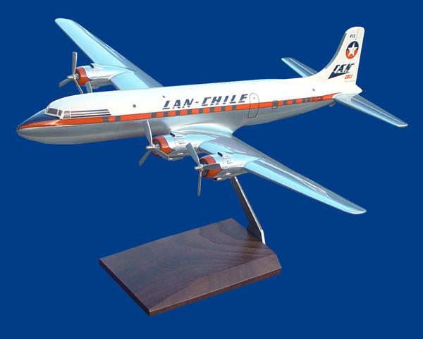 Lan Chile DC-6 (Chrome)