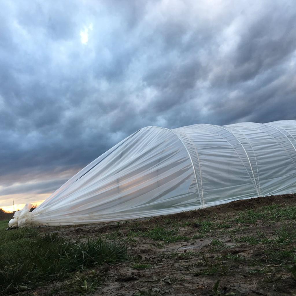 Caterpillar Tunnel - 16 ft. wide x 100 ft. long