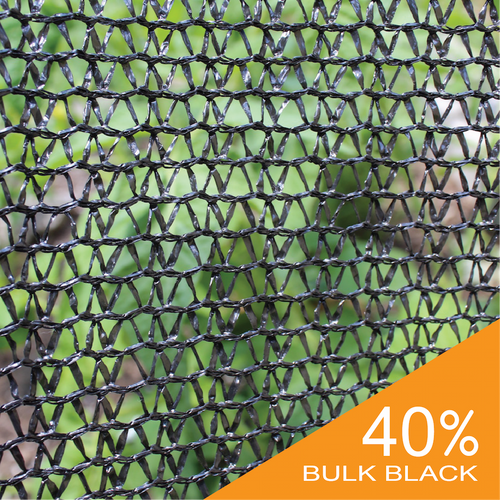 40% Black Bulk Shade Cloth