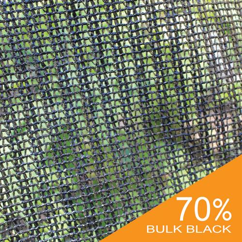 70% Black Bulk Shade Cloth