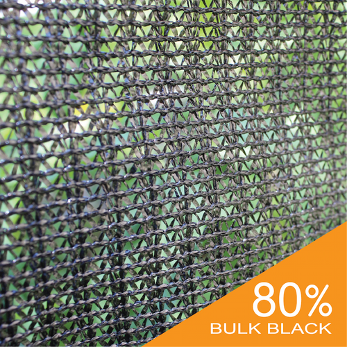 80% Black Bulk Shade Cloth
