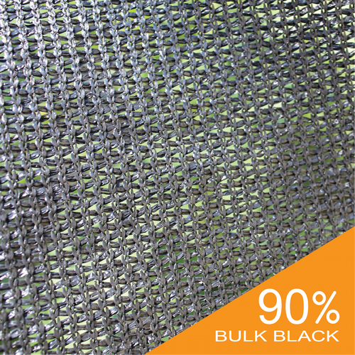 90% Black Bulk Shade Cloth