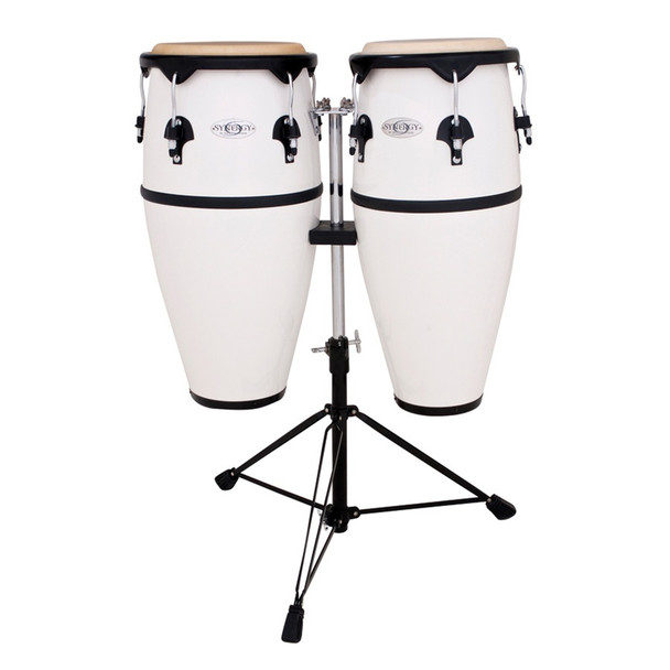 Toca Synergy Fiberglass Conga Set with Stand