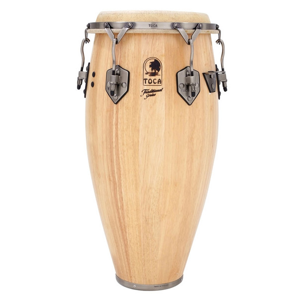 Toca Traditional 11 in. Quinto Conga Drum, Natural (3911T)