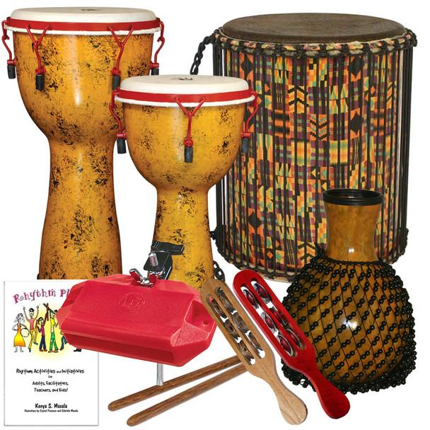 School Drumming Package #2, 10 Players