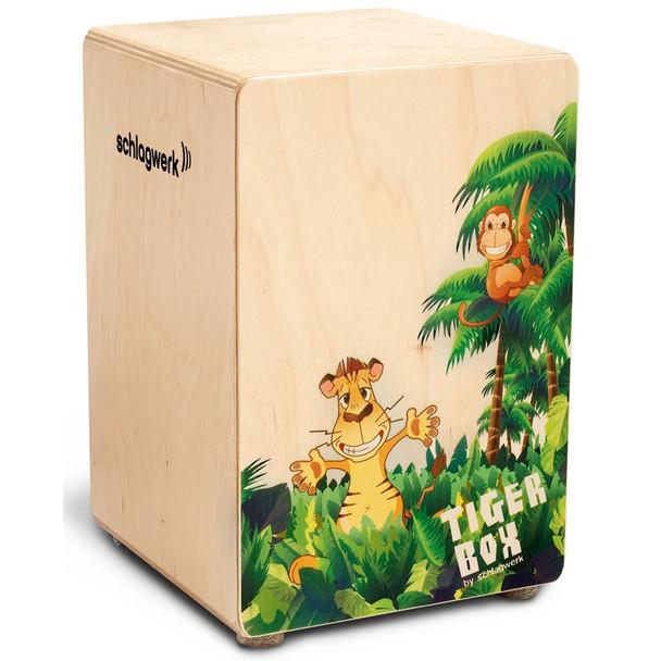 Schlagwerk Kids Cajon Tiger Box
