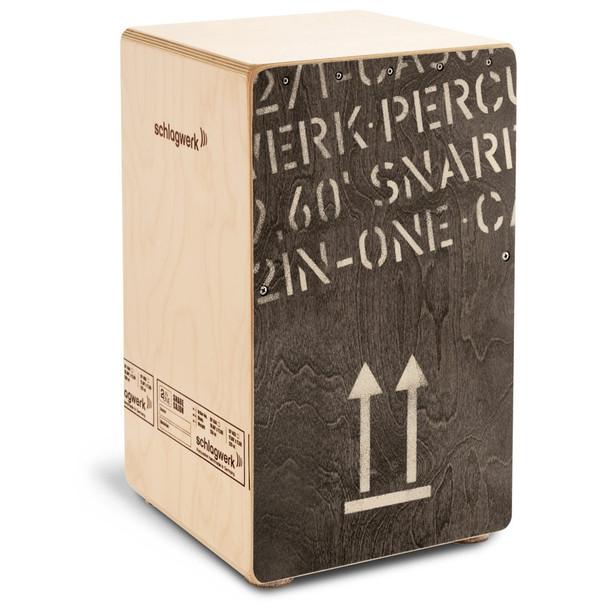 Schlagwerk 2inOne Black Edition Snare Cajon - Large