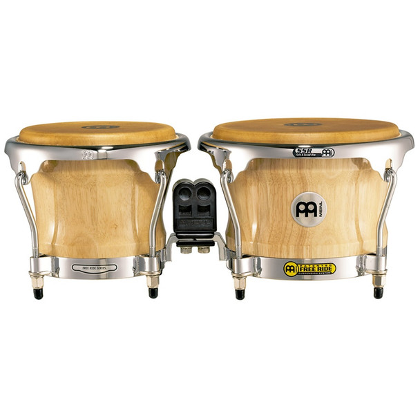 Meinl FWB400 Free Ride Series Wood Bongos - Natural