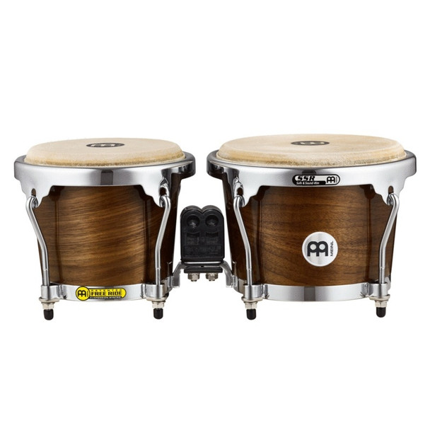 Meinl RAPC Wood Bongos - High Gloss Walnut