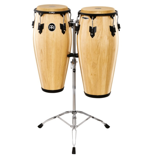 Meinl Marathon Classic Series Conga Set with Stand, Natural Finish