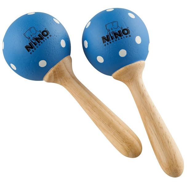 Nino Blue Polka Dot Maracas