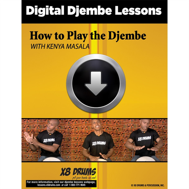 Djembe Lesson Download: How to Play Djembe for Beginners