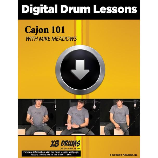 Drum Lesson Download: Cajon 101