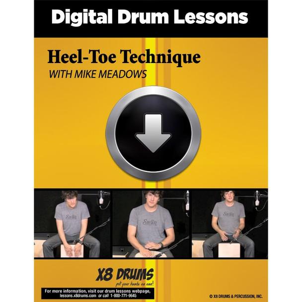 Drum Lesson Download: Heel-Toe Technique on Djembe and Cajon