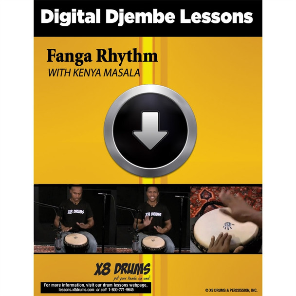 Djembe Lesson Download: Fanga Rhythm on Djembe