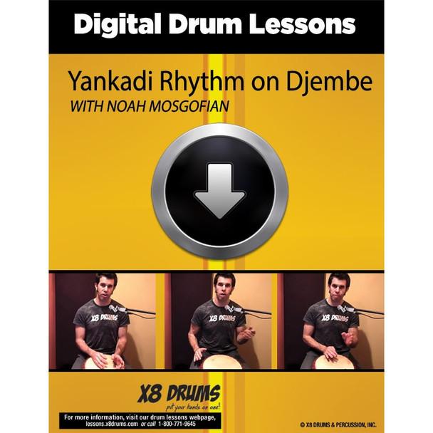How to play Yankadi on Djembe
