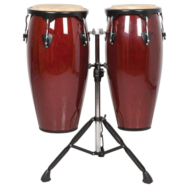 X8 Drums Endeavor Series Conga Drums, Classic Mahogany