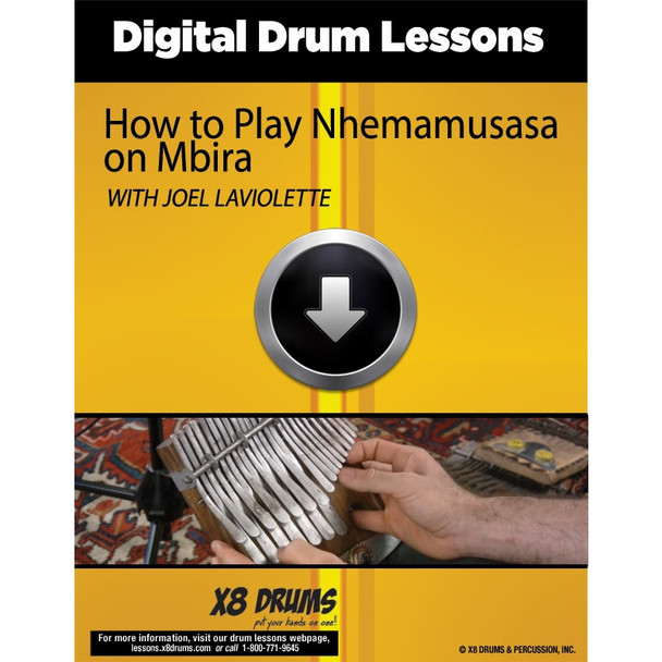 Online Lesson Download: How to Play Nhemamusasa on Mbira