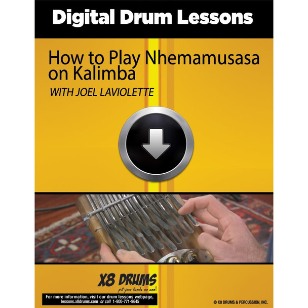 Online Lesson Download: How to Play Nhemamusasa on Kalimba