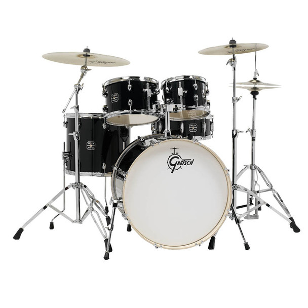 Gretsch Energy 5-Piece Kit with Full Hardware Package & Zildjian Cymbals