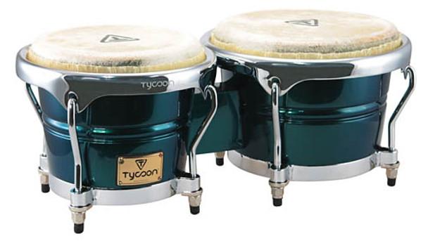 Tycoon Percussion Concerto Green Spectrum Bongos