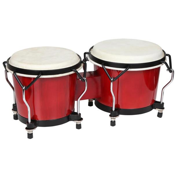 X8 Drums Endeavor Series Bongos, Red