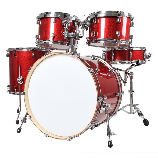 X8 Drums Journey Series Mixed Maple 5 Piece Drum Set