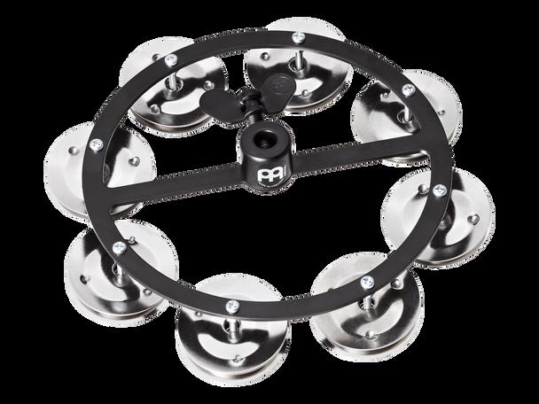 Headliner Series Hi-Hat Tambourine, Steel - Black