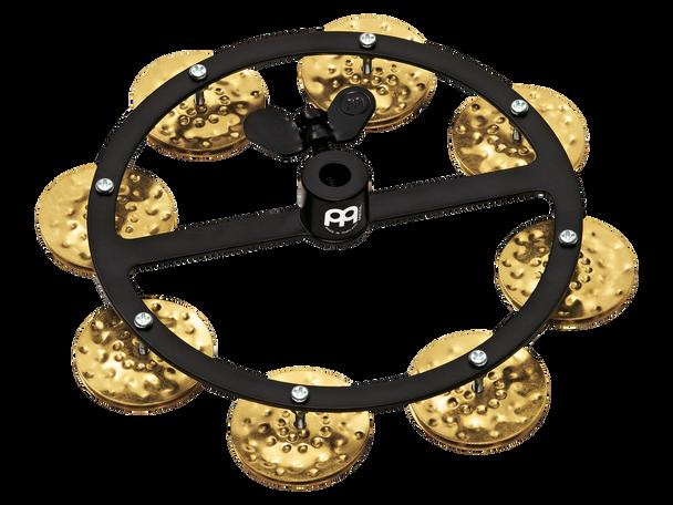 Headliner Series Hi-Hat Tambourine, Hammered Brass - 1 Row