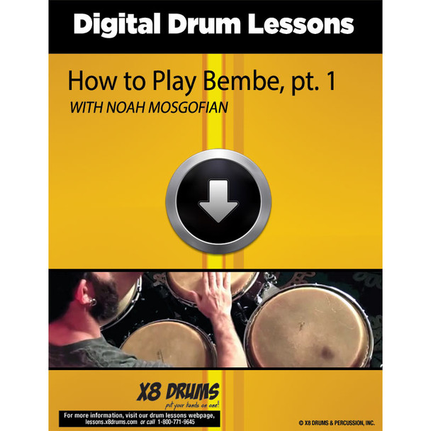 How to play Bembe on Congas (series)