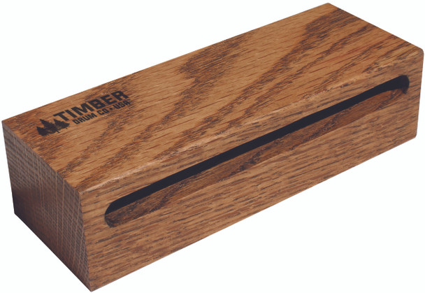 "Timber Drum Company Medium American Hardwood Wood Block (7""x2.5""x1.625"")"