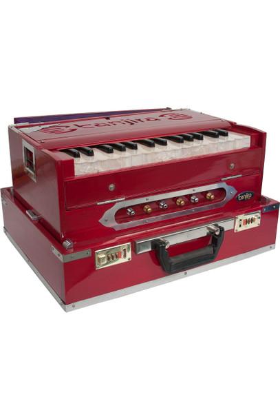 banjira Deluxe Yoga C-F Harmonium - Red