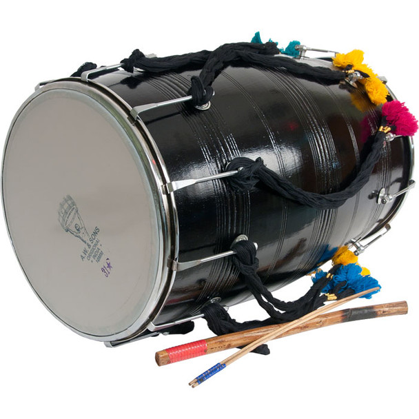 "banjira Dhol w/ Synthetic Heads 14""x25"" *Blemished"