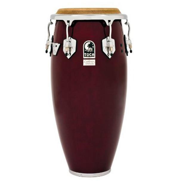 Toca 4611-3/4DW Custom Deluxe 11-3/4 in. Conga Drum, Dark Wood