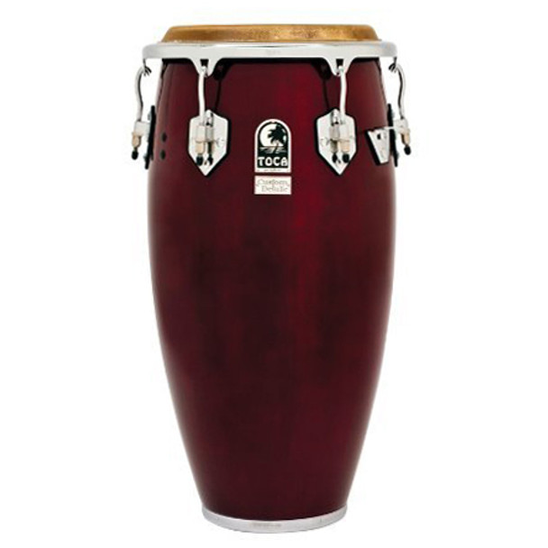 Toca 4612-1/2DW Custom Deluxe 12-1/2 in. Tumba Conga Drum, Dark Wood