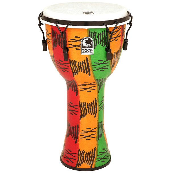 Toca FreeStyle 10 in. Mechanical Tuned Djembe, Spirit
