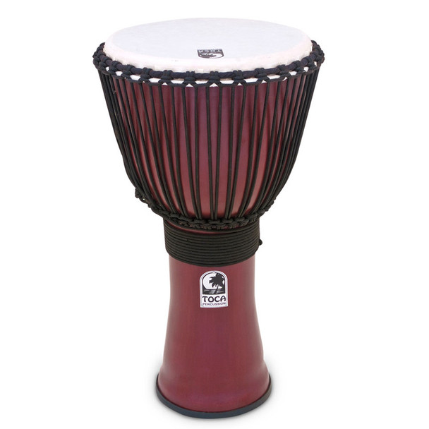 Toca 9 in. Freestyle II Rope Djembe