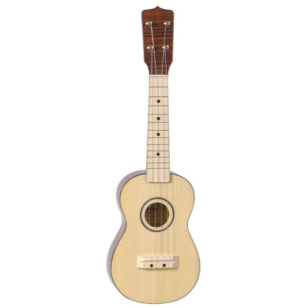 Amigo Solid Spruce Top 4-String Soprano Ukulele