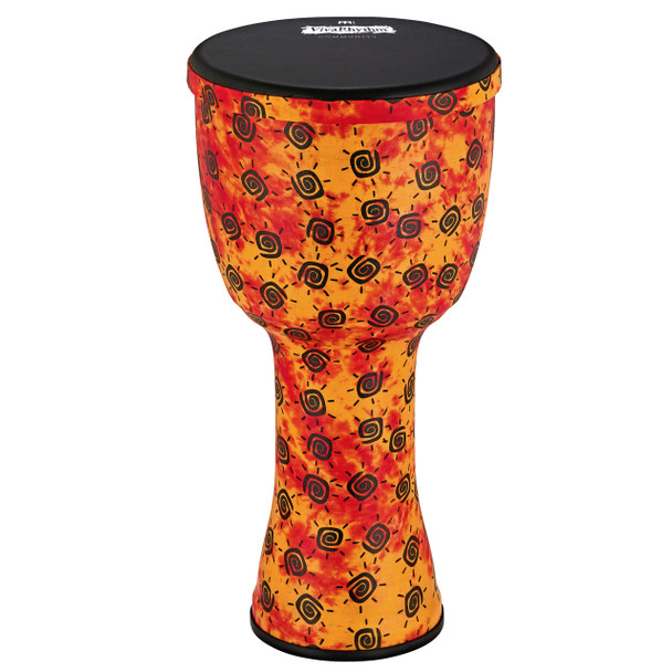 "Meinl VivaRhythm VR-SDJ12-NH Boom Series 12"" Djembe, Pre-tuned Napa Head, Sunshine Finish"