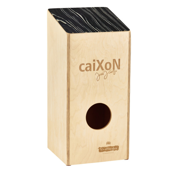 Meinl VivaRhythm VR-CAIX Birch Wood caiXoN with Internal Snares for Standing Cajon Players, Large