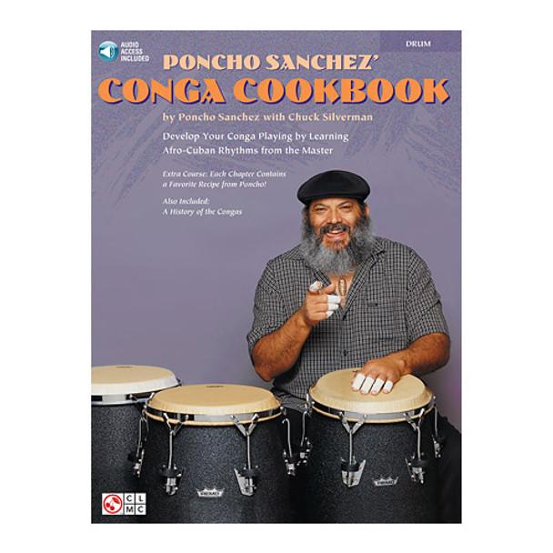 Poncho Sanchez' Conga Cookbook, Book/Audio