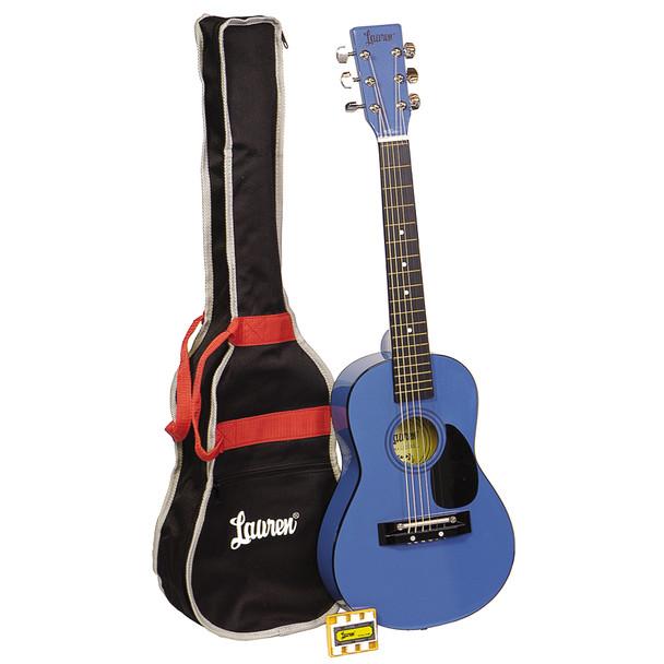 Lauren - 30in. Guitar Package Metallic Blue