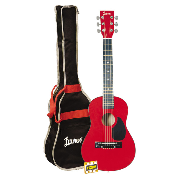 Lauren - 30in. Guitar Package Metallic Red