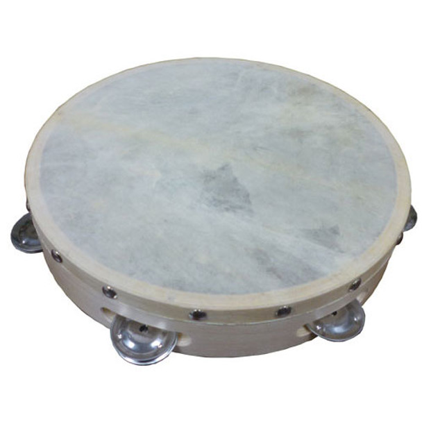 "Cannon 10"" Single Row Tambourine"