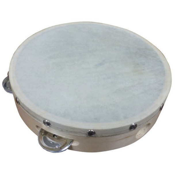 "Cannon 8"" Single Row Tambourine"