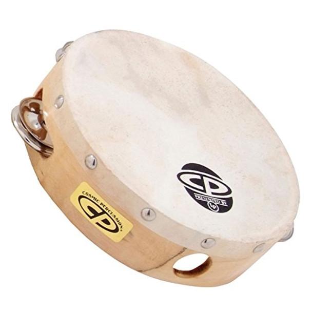 LP 6 Inch Tambourine With Head Single Row (CP376)