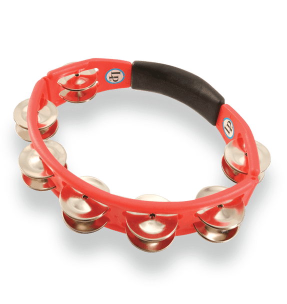 LP Cyclops Hand Held Tambourine Red (LP151)