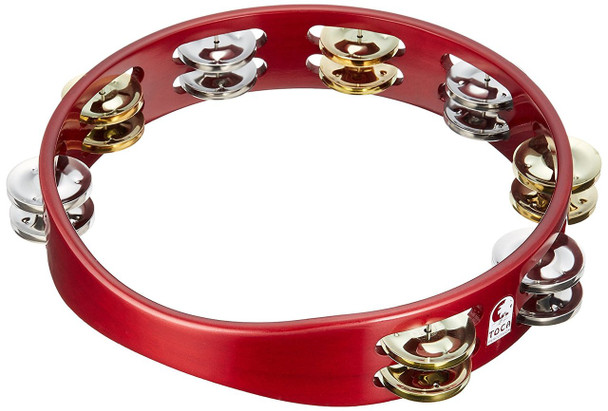 "Toca 10"" Colorsound Tambourine (TCT10-RD)"